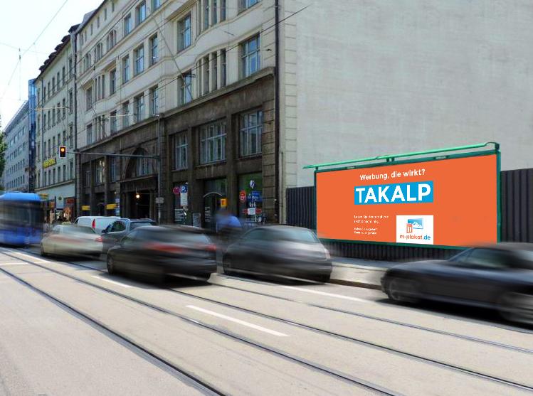 Plakatwerbung im Panoramaformat - Außenwerbung in München