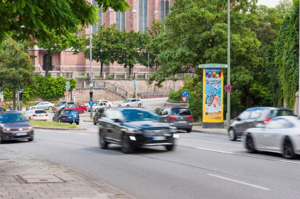 Außen- und Plakatwerbung als Ganzsäule - Werbung die wirkt