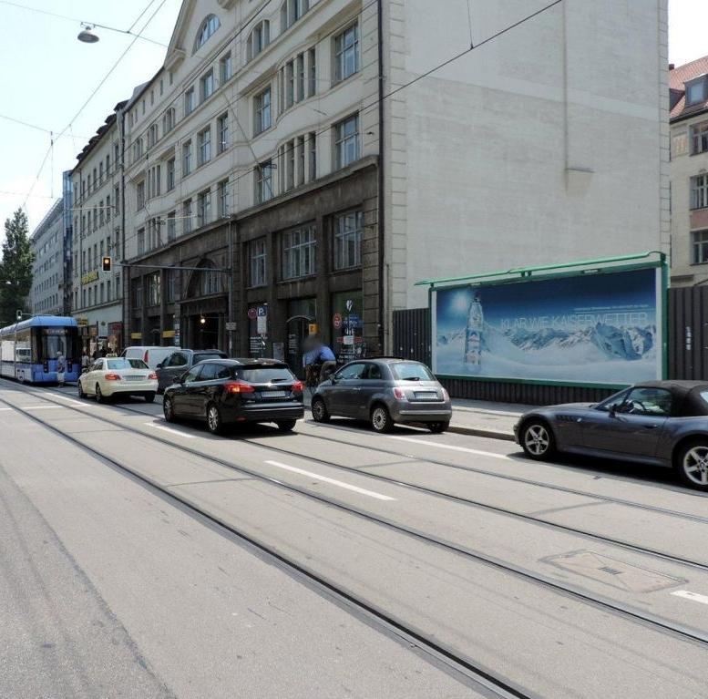 Außenwerbung - Panoramawerbung Bayer Str. 61