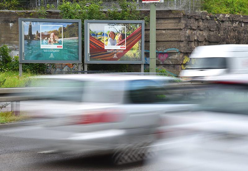 Starten Sie Ihre Werbekampagne mit Mega-Light Plakaten - Mega Light Werbefläche