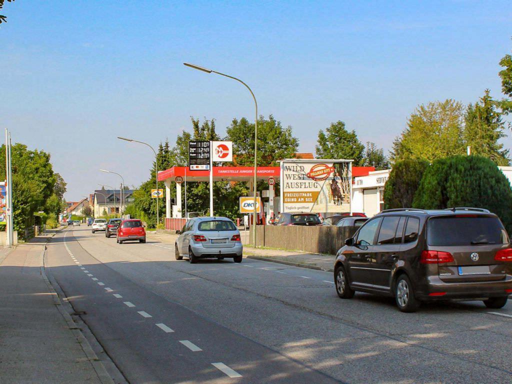 Aussenwerbung in Erding - Dominant im Straßenbild